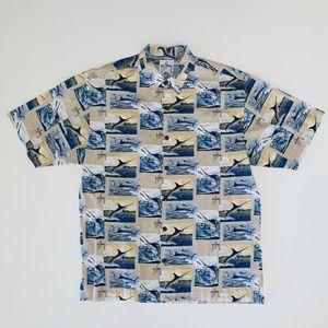 Guy Harvey AFICO Blackwater Shirt Men's Large